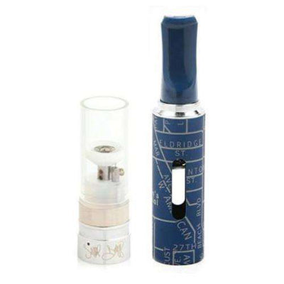 Grenco Snoop Dogg G Pen Ground Material Tank - Front Profile with Accessory