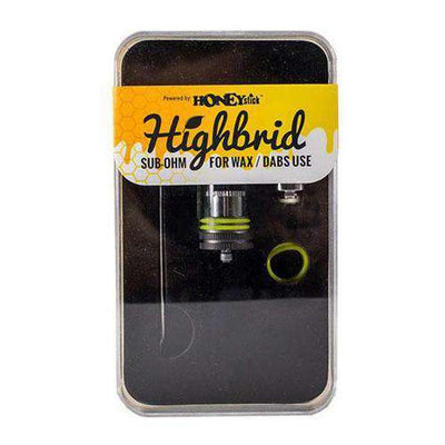 HoneyStick Highbrid Dual Quartz Rod Sub Ohm Atomizer - Inside Case Profile