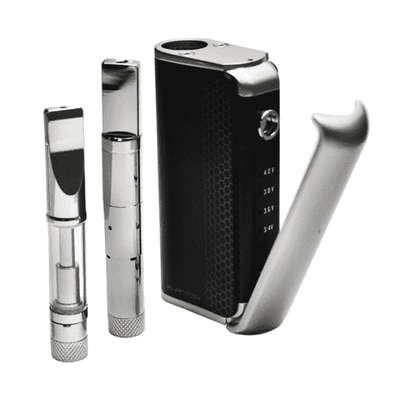 HoneyStick Phantom Squeeze Box 2-in-1 Cartridge Vape-Black