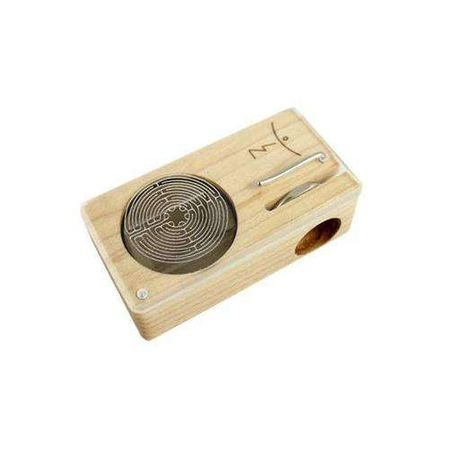 Magic Flight Launch Box Vaporizer - Engraved - Labyrinth