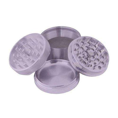 "Mendo Mulcher 1.75"" 4-Piece Grinder - Disassembled Profile"