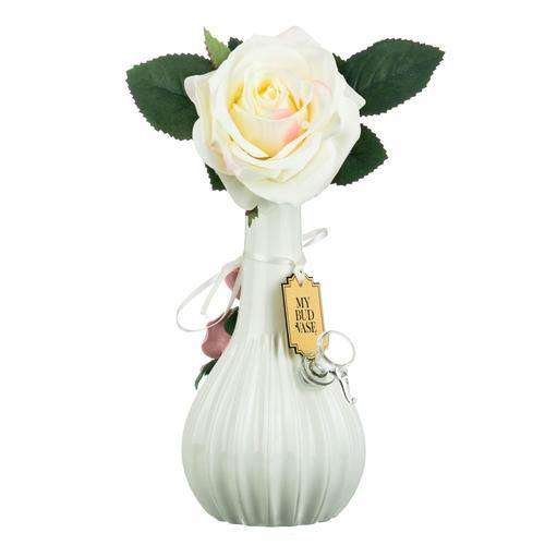 "My Bud Vase ""Rose"" Water Pipe - Ivory"