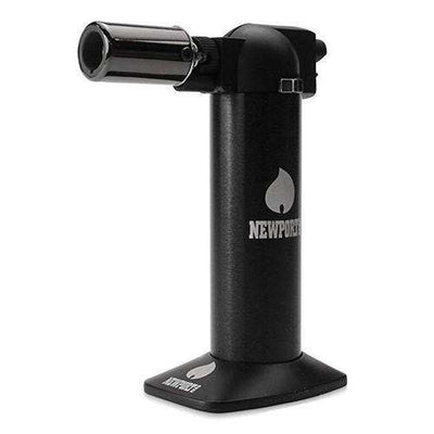 "Newport Zero 6"" Cigar Torch-Black"