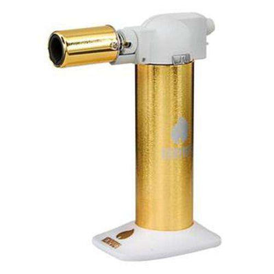 "Newport Zero 6"" Cigar Torch-Gold White"