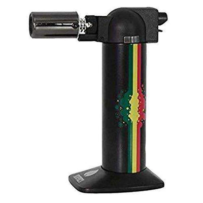 "Newport Zero 6"" Cigar Torch-Rasta Black"
