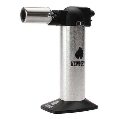 "Newport Zero 6"" Cigar Torch-Silver"