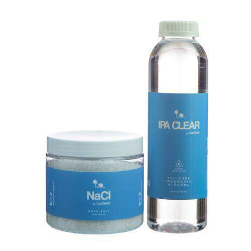 Nucleus Alcohol and Salt Cleaning Combo