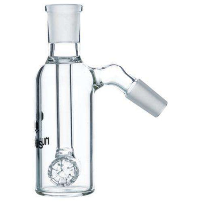 Nucleus Barrel Perc Ashcatcher - 14mm Black