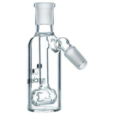 Nucleus Barrel Perc Ashcatcher - 18mm Clear