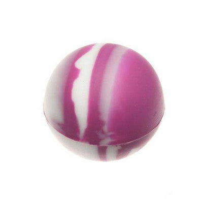 Oil Slick Ball-Orchid