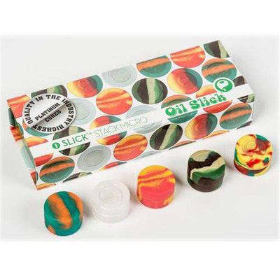 Oil Slick Micro Stack 4-Pack-Rasta