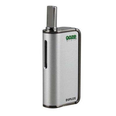 Ooze Duplex Dual Extract Portable Vaporizer-Silver