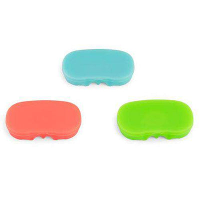 PAX 2/3 Flat Mouthpiece Multi Color 3-Pack - Front Profile