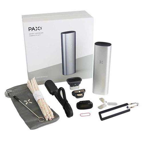 PAX 3 Vaporizer - Silver Complete Kit