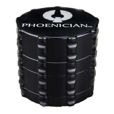 Phoenician Medium 4-Piece Grinder-Black