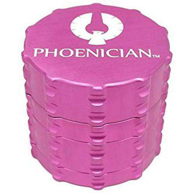 Phoenician Medium 4-Piece Grinder-Pink