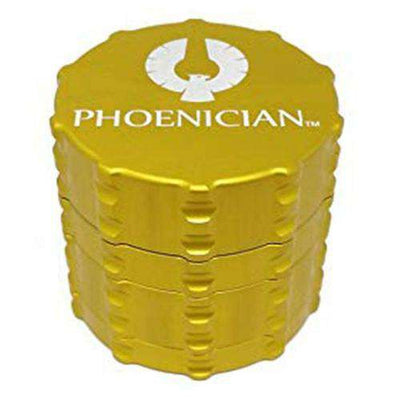 Phoenician Medium 4-Piece Grinder-Yellow