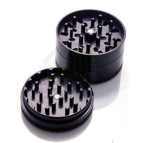 Santa Cruz Large 4 Piece Herb Grinder - Blue