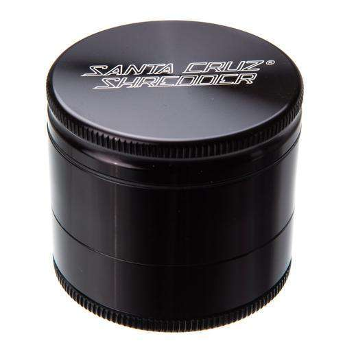 Santa Cruz Medium 3 Piece Herb Grinder - Silver
