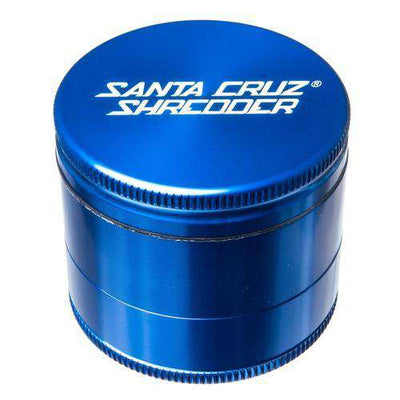 Santa Cruz Medium 3 Piece Herb Grinder - Rasta