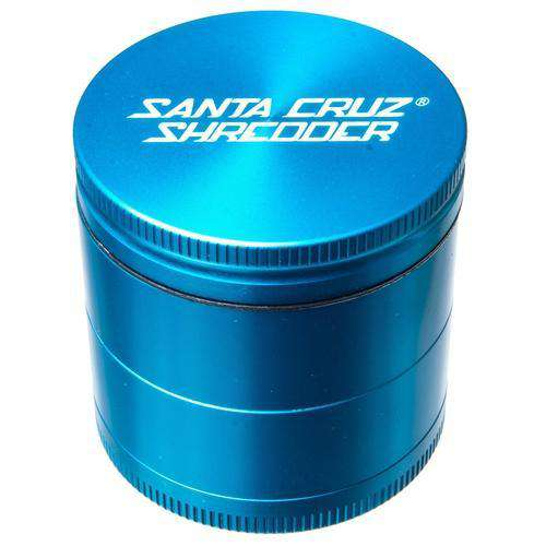Santa Cruz Medium 4 Piece Herb Grinder - Gold