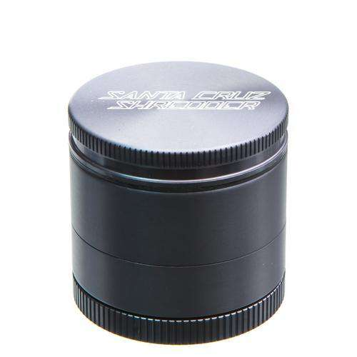 Santa Cruz Small 4 Piece Herb Grinder - Black