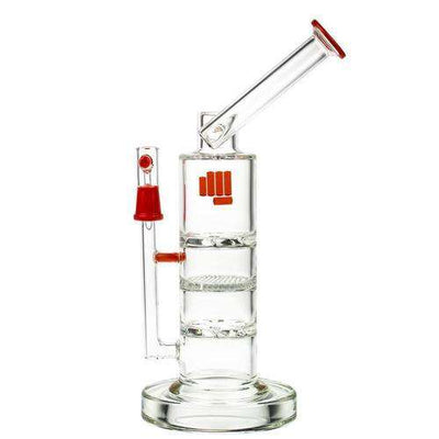 Famous Brandz Snoop Pounds Battleship Water Pipe - Red
