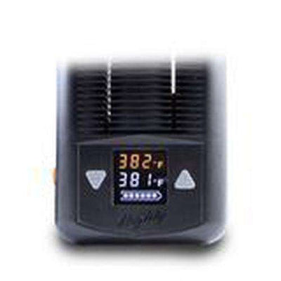storz and bickell mighty vaporizer - digital display close-up