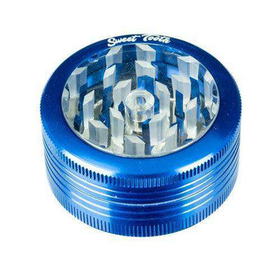 Blue-Sweet Tooth 2-Piece Pop Up Diamond Teeth Grinder