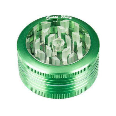 Green-Sweet Tooth 2-Piece Pop Up Diamond Teeth Grinder