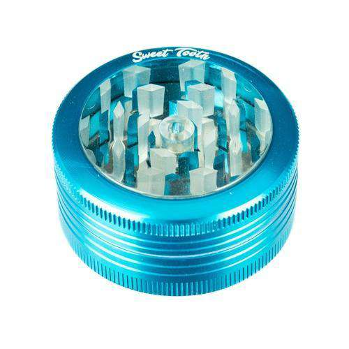 Teal-Sweet Tooth 2-Piece Pop Up Diamond Teeth Grinder