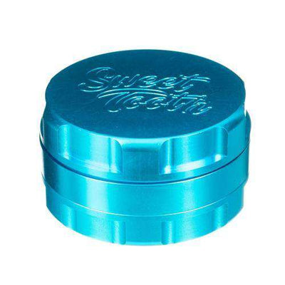 Teal-Sweet Tooth 3-Piece Large Radial Teeth Aluminum Grinder