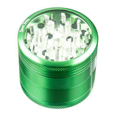 Green-Sweet Tooth 4-Piece Medium Diamond Teeth Aluminum Grinder