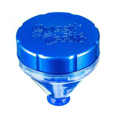 "Blue-Sweet Tooth ""Fill 'er Up"" Funnel Style Aluminum Grinder"