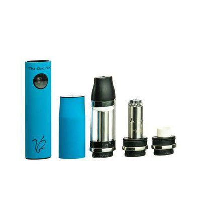 The Kind Pen V2 Tri-Use Vaporizer Kit - Blue