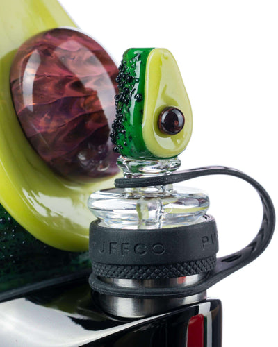 """Avocadope"" Glass Attachment for Puffco Peak"