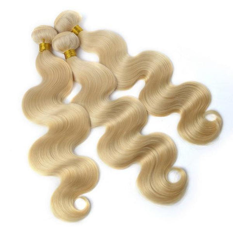 Virgin Mink Blonde Hair