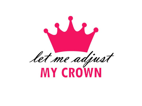 """Adjust Crown"""
