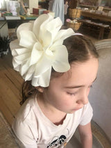 Chiffon Flower Headband - Mudpie San Francisco