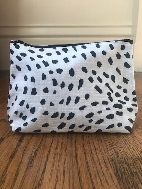 Cosmetic Bag - Animal Print - Mudpie San Francisco
