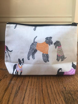 Cosmetic Bag - Dog Party - Mudpie San Francisco