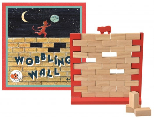 Wooden Wobbling Wall Toy - Mudpie San Francisco