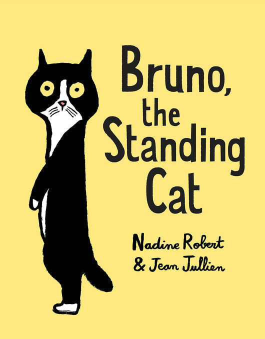 Bruno, The Standing Cat - Mudpie San Francisco