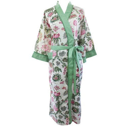 Green Orchid Robe