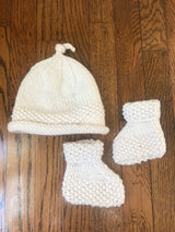 Hat/Bootie Set - Mudpie San Francisco