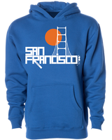 bridge sweatshirt hoody - Mudpie San Francisco