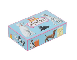 John Derian x Louis Sherry Truffle Hound Chocolate Tin (12pc) - Mudpie San Francisco