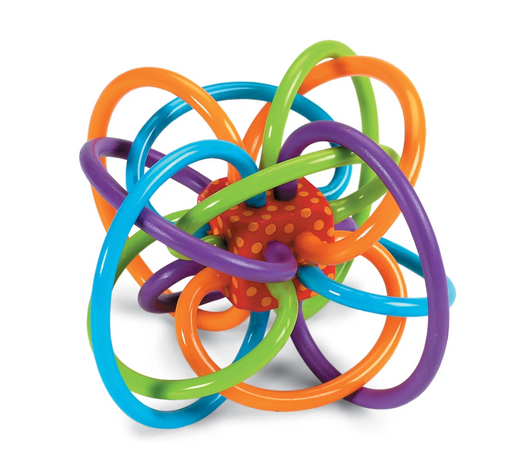 Classic Winkel Teether Rattle - Mudpie San Francisco