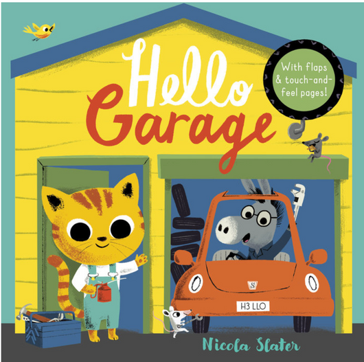 Hello Garage Board Book