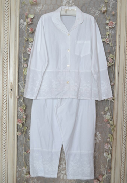 Ladies Julia White PJ S/M